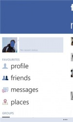 Windows Mobile Phone Application: Facebook