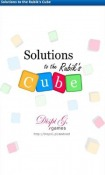Solutions to the Rubik's Cube Game for Android Mobile Phone