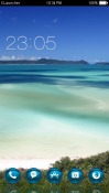 Queensland Island CLaunche Theme for Android Mobile Phone